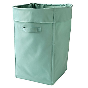I Think I Canvas Teal Hamper