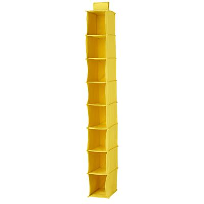 I Think I Canvas Narrow Hanging Organizer (Yellow)