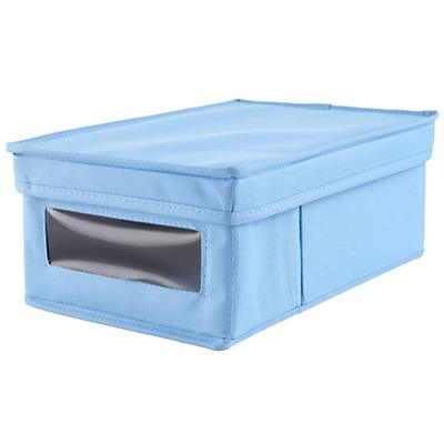 I Think I Canvas Shoe Box (Lt. Blue)