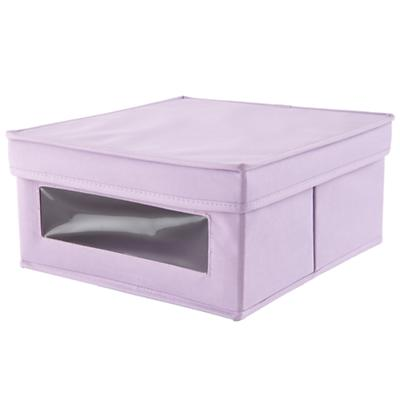 I Think I Canvas Sweater Box (Lavender)