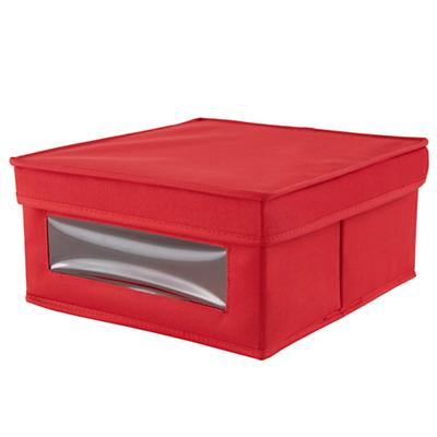 I Think I Canvas Sweater Box (Red)
