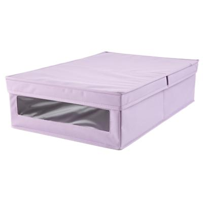 I Think I Canvas Underbed Box (Lavender)
