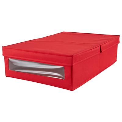 I Think I Canvas Underbed Box (Red)