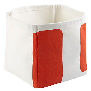Color Pop Cube Bin (Orange)