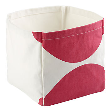 Color Pop Cube Bin (Pink)