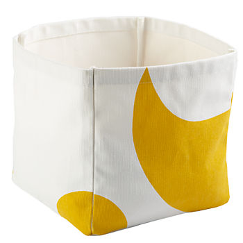 Color Pop Cube Bin (Yellow)