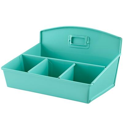 I Could've Bin a Desk Organizer (Aqua)