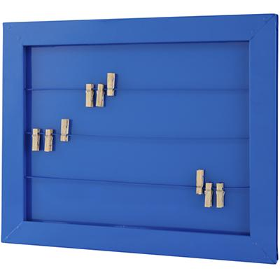 I Could've Been a Memo Board (Blue)