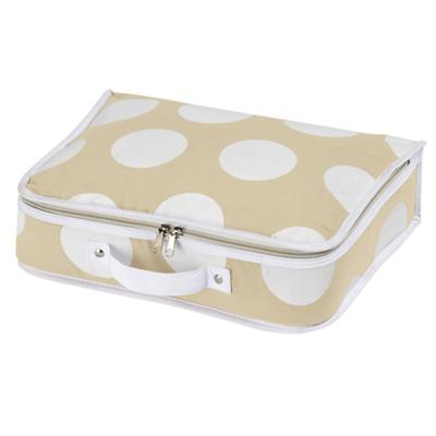 Dotted Suitcase (White)