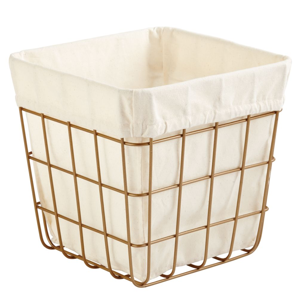 Index Cube Bin Gold The Land Of Nod