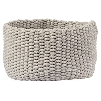 Kneatly Knit Medium Khaki Rope Bin