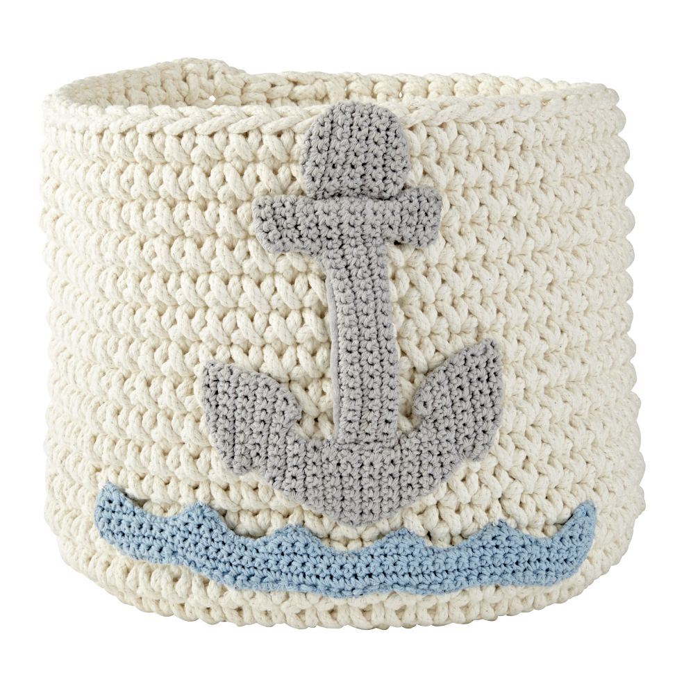 Knit Nursery Bins (Anchor)