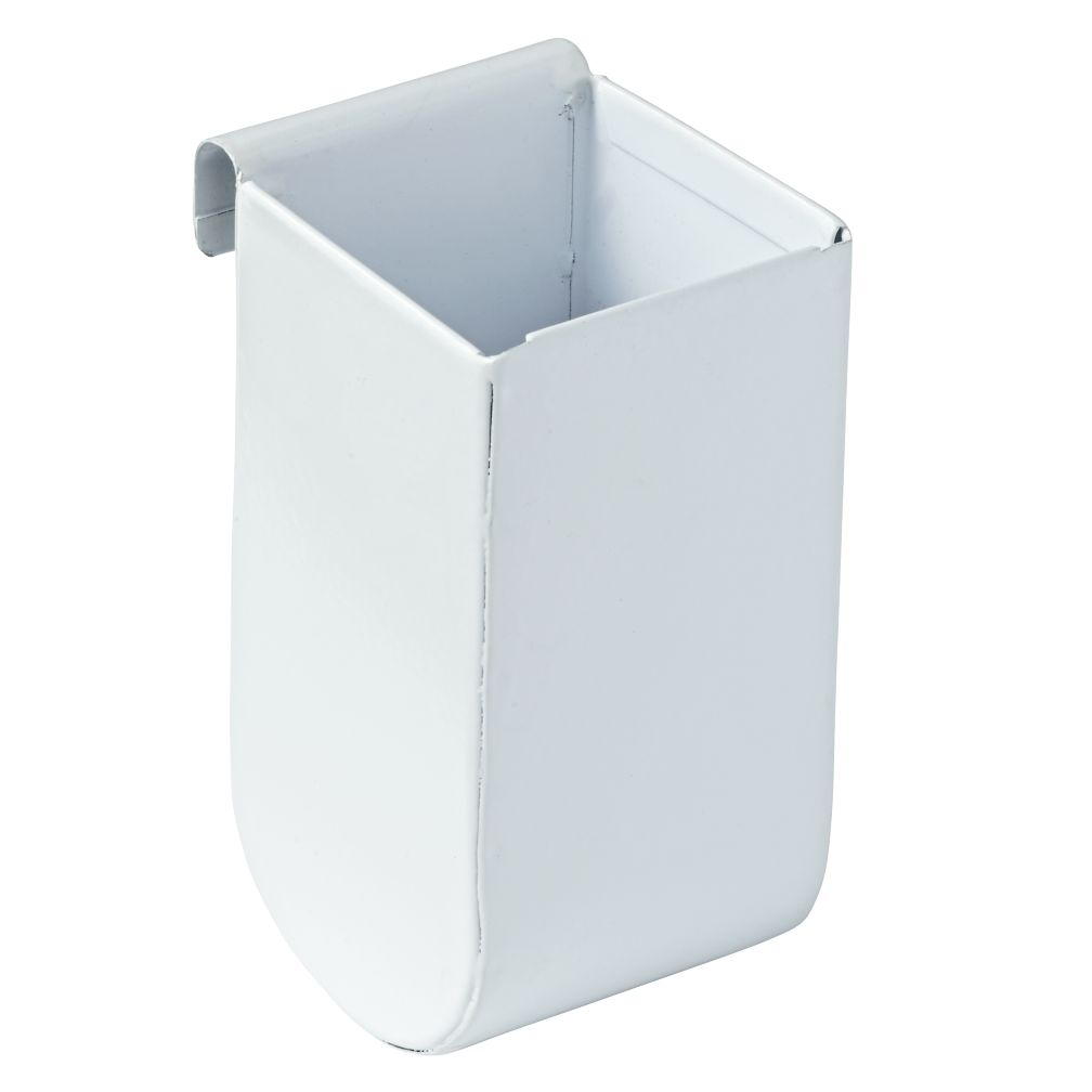 Eric Trine Linear White Tall Pot