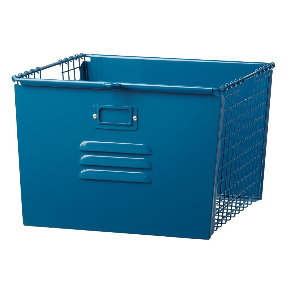 Saved by the Cube Bin Locker Basket (Dk. Blue)