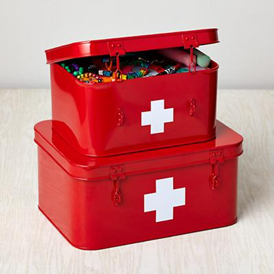 Store More Metal Boxes (First Aid)