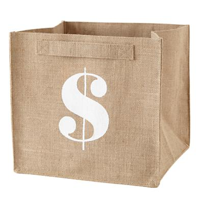 $ Store By Numbers Cube Bin