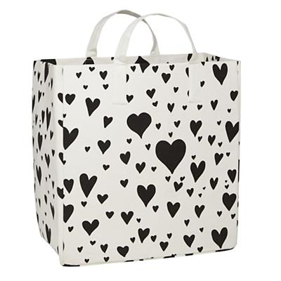 Love Struck Floor Bin (Black)