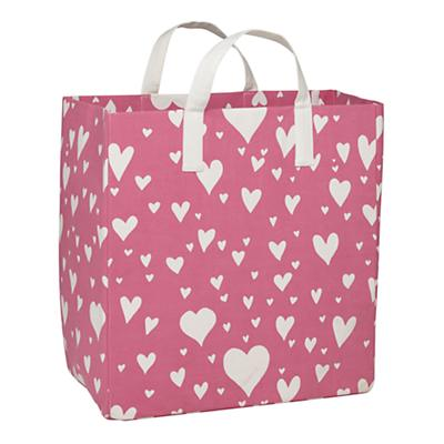 Love Struck Floor Bin (Pink)