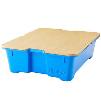 Blue Write Side Up Storage Bin