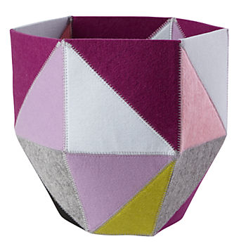 Quartz Cube Bin (Purple)