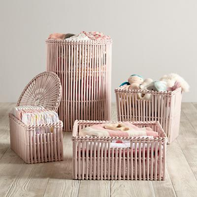 Reed Between the Basket Collection (Lt. Pink)