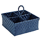 Dk. Blue Strapping Art Caddy.