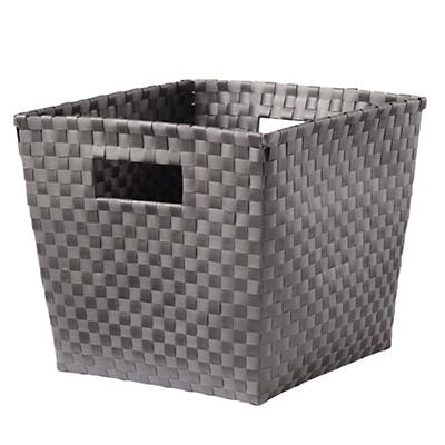 Strapping Cube Bin (Dark Grey)