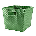 Green Strapping Cube Bin