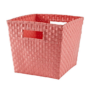 Strapping Cube Bin (Light Pink)
