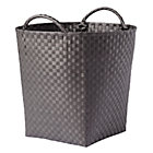 Dark Grey Strapping Floor Bin