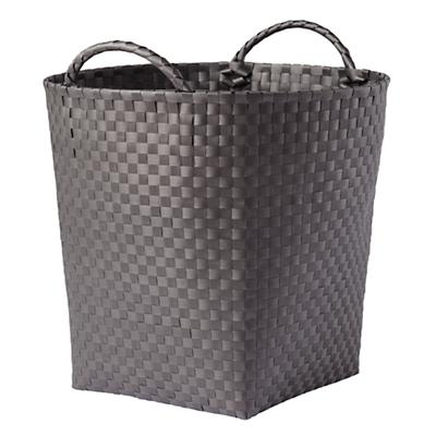 Strapping Floor Bin (Dark Grey)