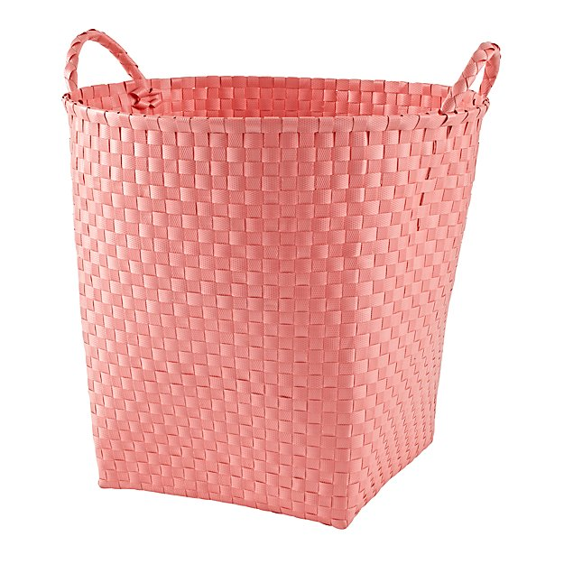 Strapping Floor Bin (Light Pink)