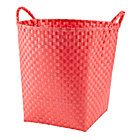 Bright Red Strapping Floor Bin
