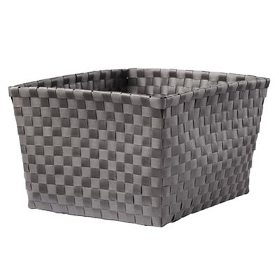 Strapping Shelf Basket (Dark Grey)