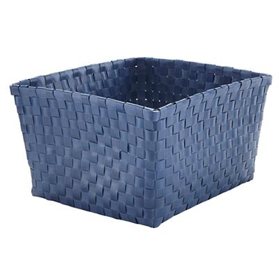Strapping Shelf Basket (Dark Blue)