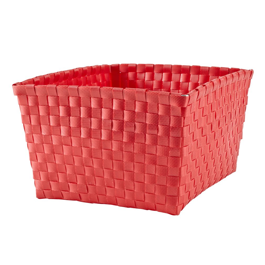 Strapping Shelf Basket (Bright Red)