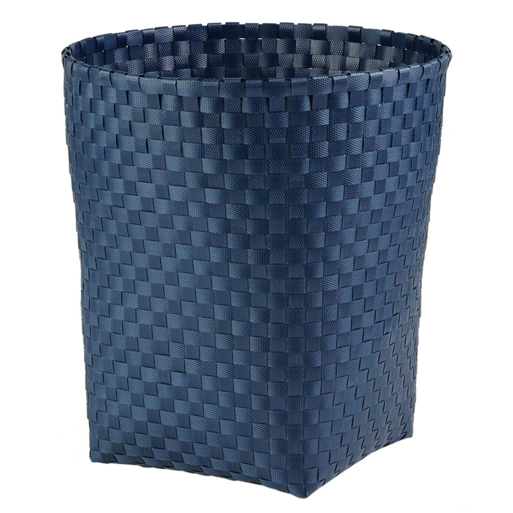 Strapping Trash Can (Dk. Blue)