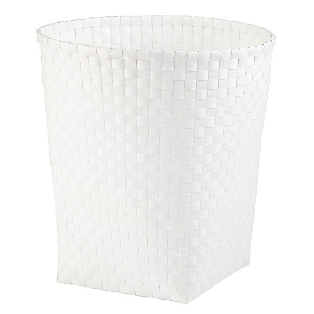 Strapping Trash Can (White)