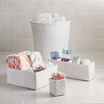 Strapping Desk Bath Storage Collection