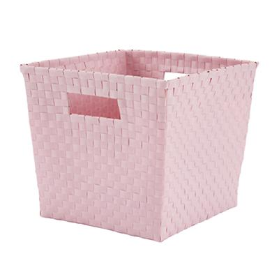 Strapping Cube Bin (Lt. Pink)