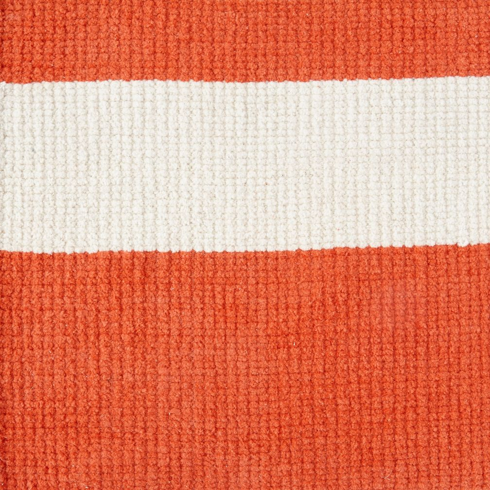 barcode grey rug  the land of nod - red