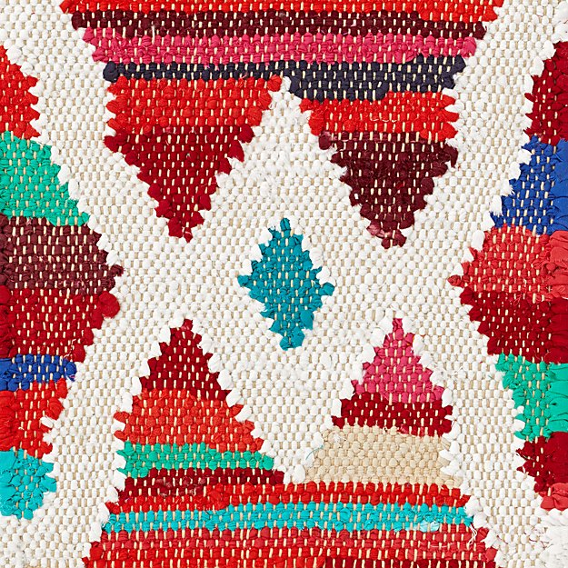Colorful Cotton Rug Swatch