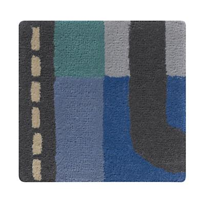 We're Not Asking for Directions Rug Swatch