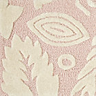Forest Floor Pink Rug Swatch