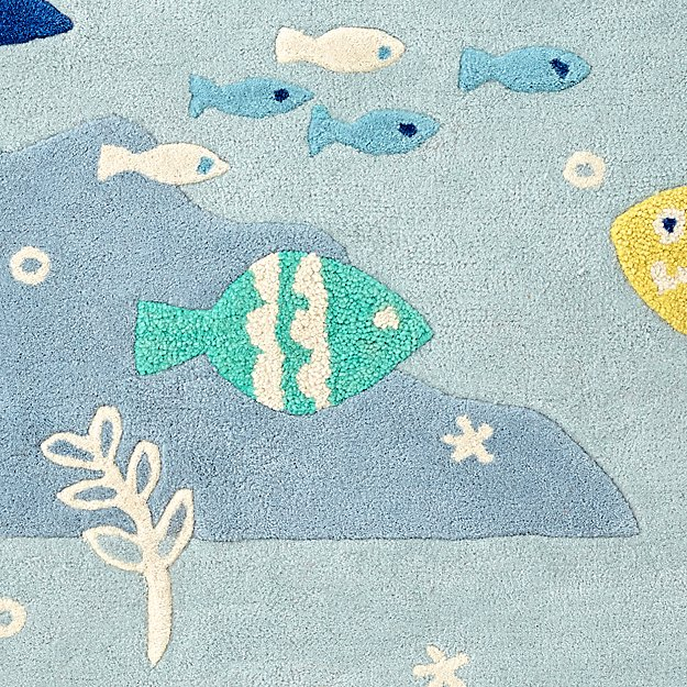 under the sea rug swatch the land of nod. Black Bedroom Furniture Sets. Home Design Ideas