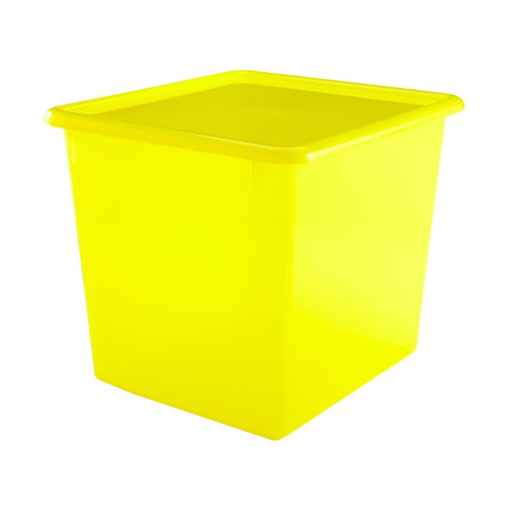 Yellow Cube Top Box