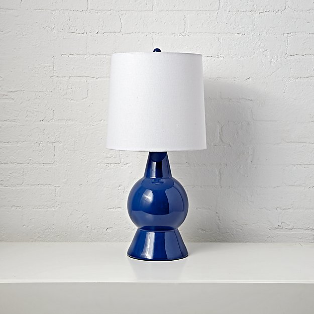 Beacon Blue Ceramic Table Lamp