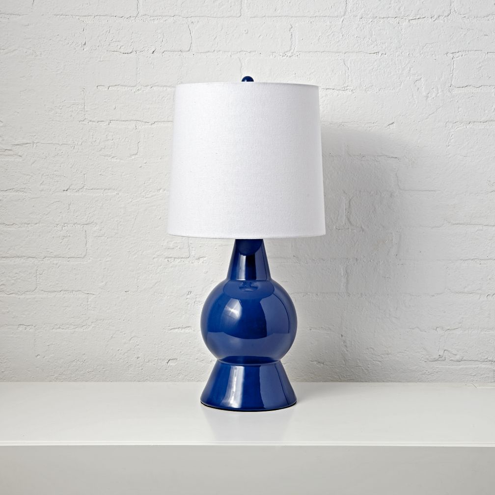 Beacon Blue Table Lamp