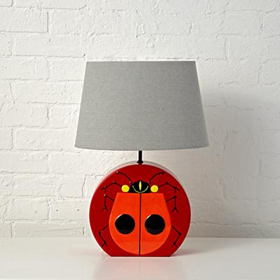 Table_Lamp_Charley_Harper_Lady_Bug_OFF