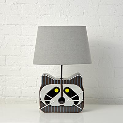 Table_Lamp_Charley_Harper_Raccoon_OFF